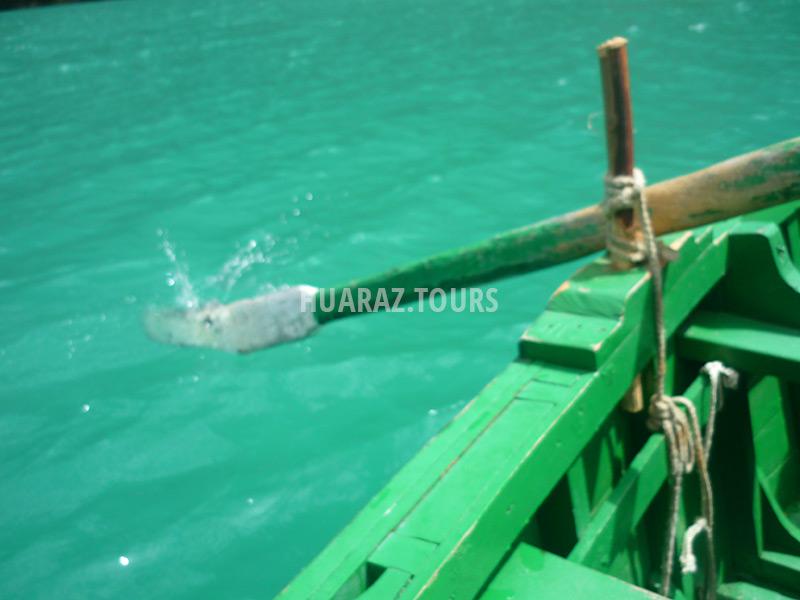 Paseo en bote laguna de Llanganuco